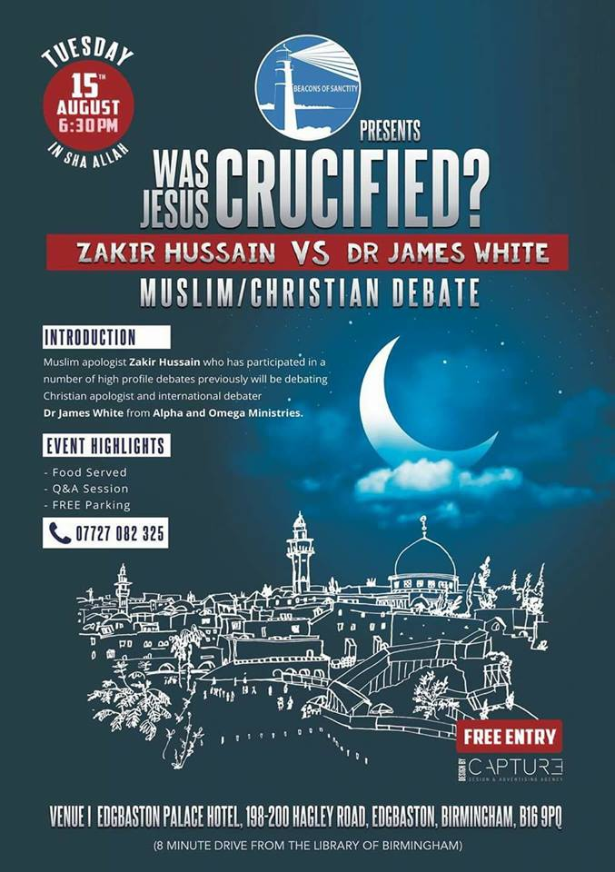 akir hussein and james white debate