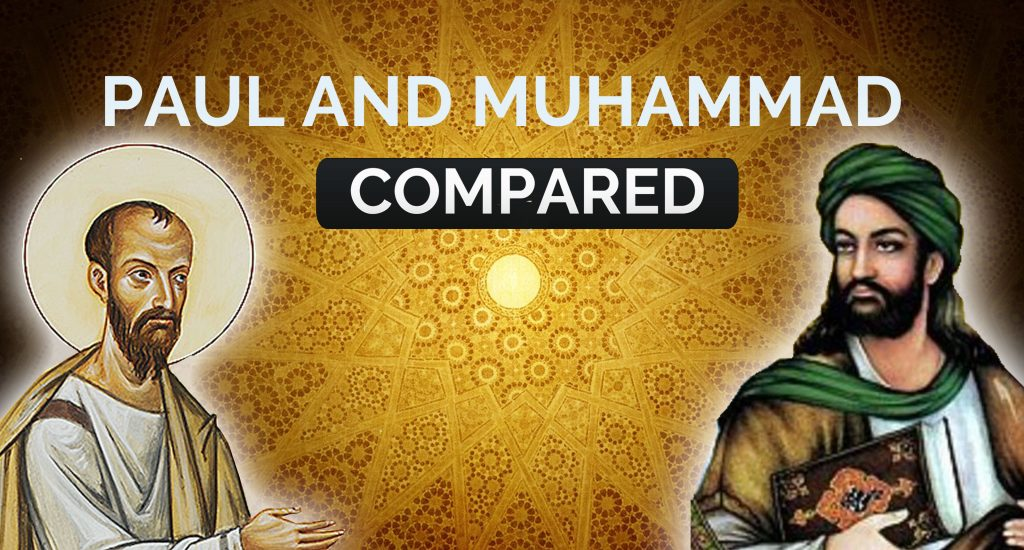 Paul and muhammad compared