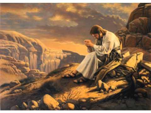 How can Jesus be God if He Himself Worshiped God?