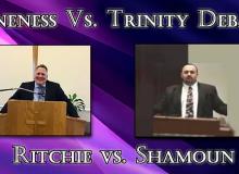 oneness vs trinity debate
