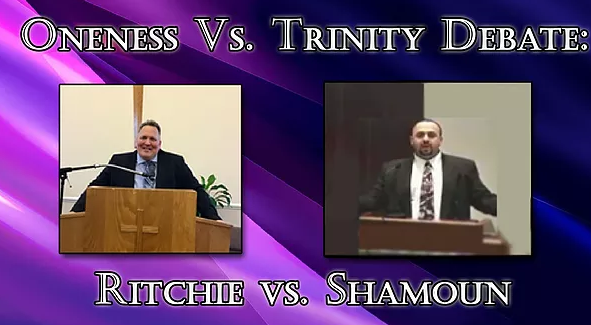 oneness vs trinity debate