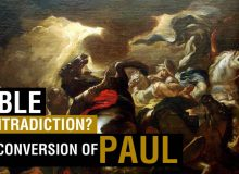 Bible Contradiction Paul Conversion