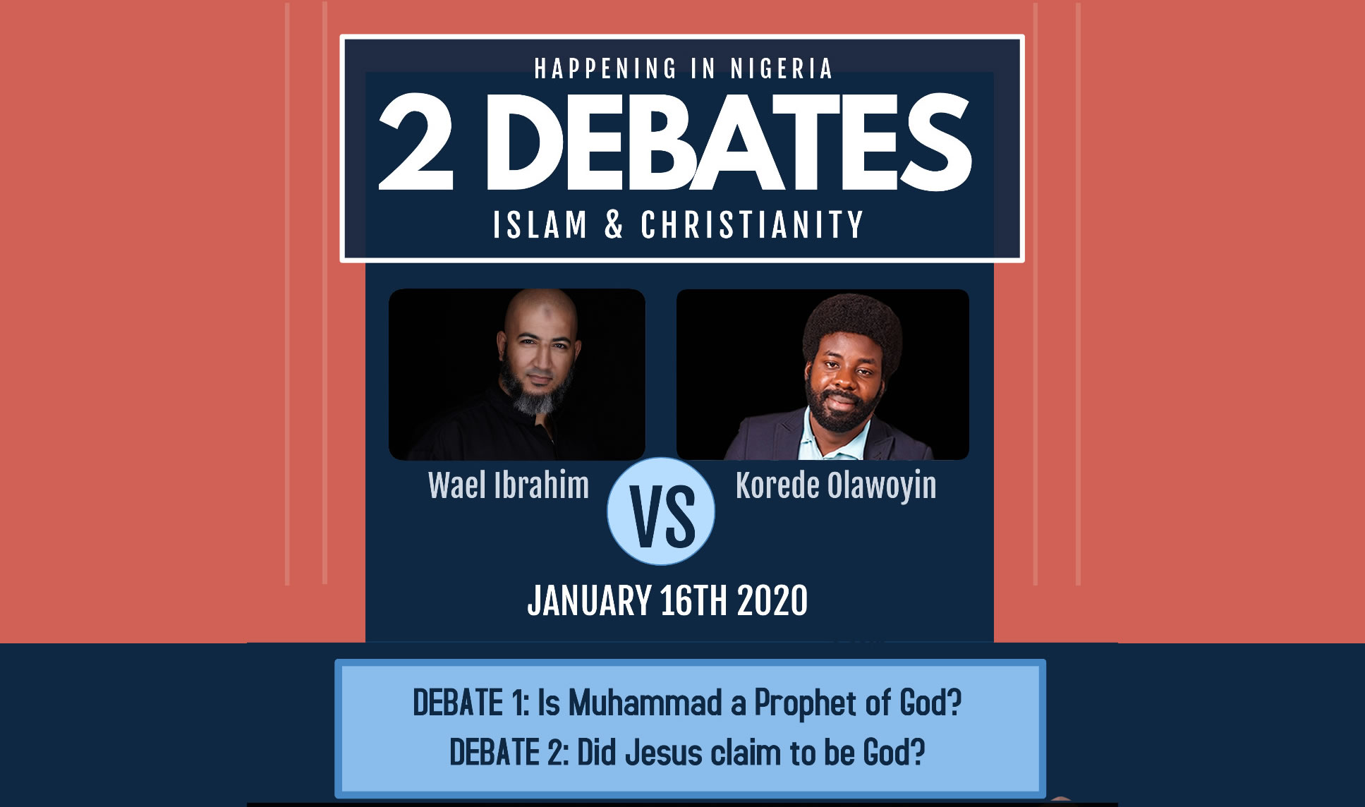 Korede and Wael debate