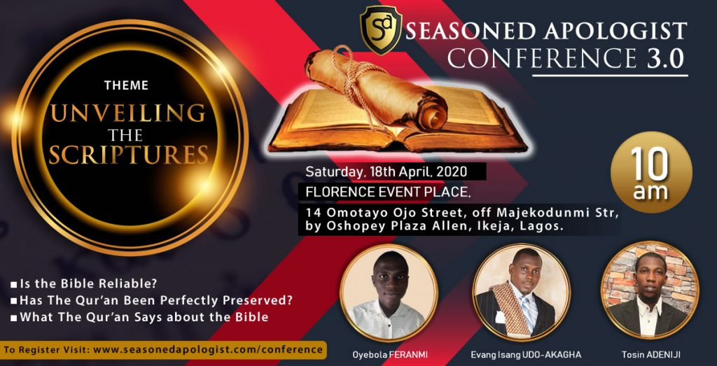 Seasoned-Apologist Conference 3.0