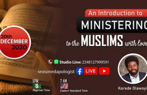 Introduction to Ministering to the Muslims